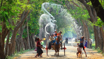 Thingyan Water Festival Myanmar