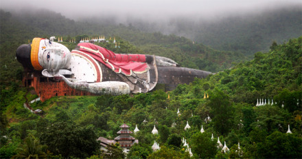 Kyauktalon Taung, World biggest reclining Buddha