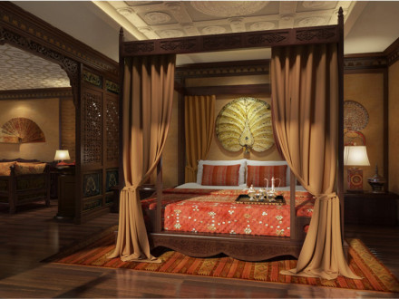 Royal Suite on Anawrahta Cruise , Myanmar