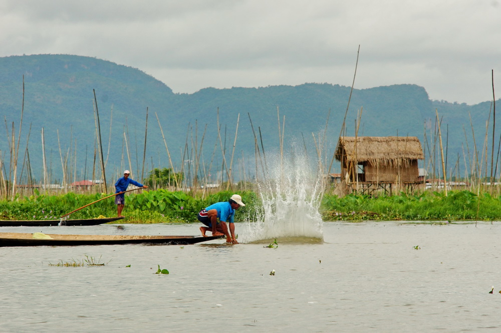 Daily Life at Inle Lake, Myanmar
