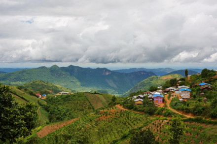 Kalaw, destination for trekking in Myanmar