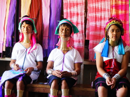An Ethnic Group at Inle Lake