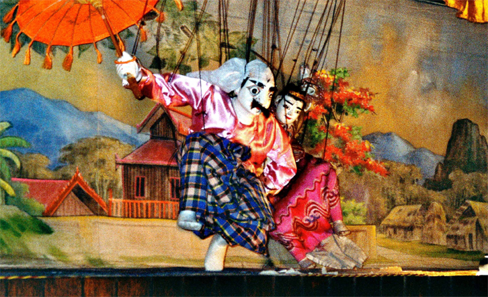 Mandalay Marionettes Show