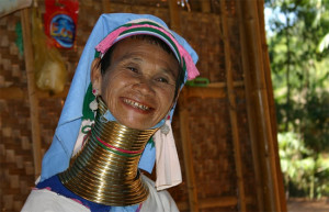 Padaung tribe in Myanmar