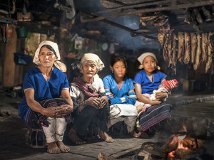 hill tribe people kengtung