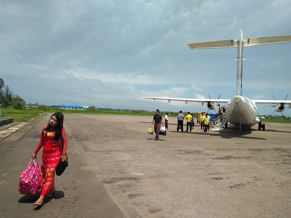 ATR at Sittwe Airport