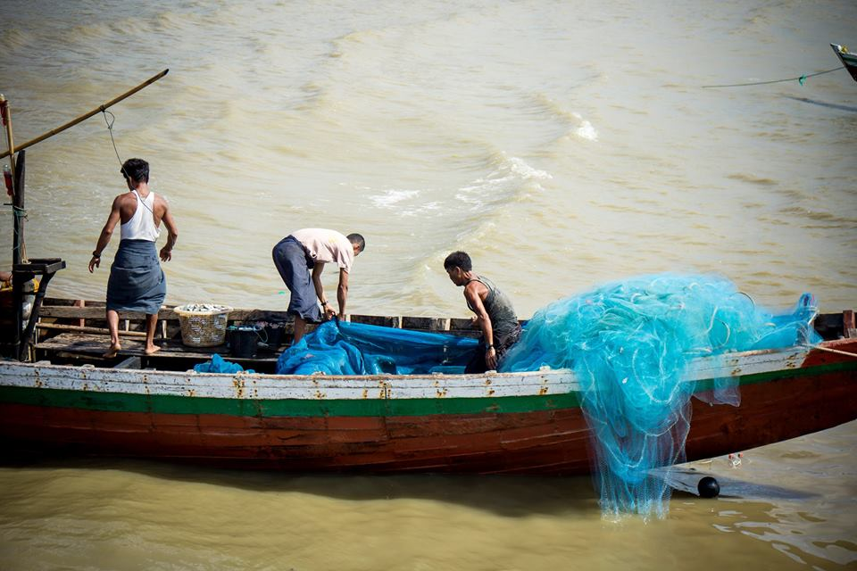 Sittwe Fishing Boat