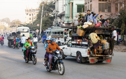 Modes of Transportation in Myanmar