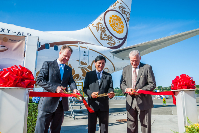 Myanmar National Airlines opens several new routes