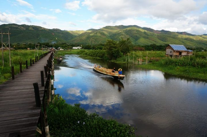 Boat trip on Inle Lake, Myanmar
