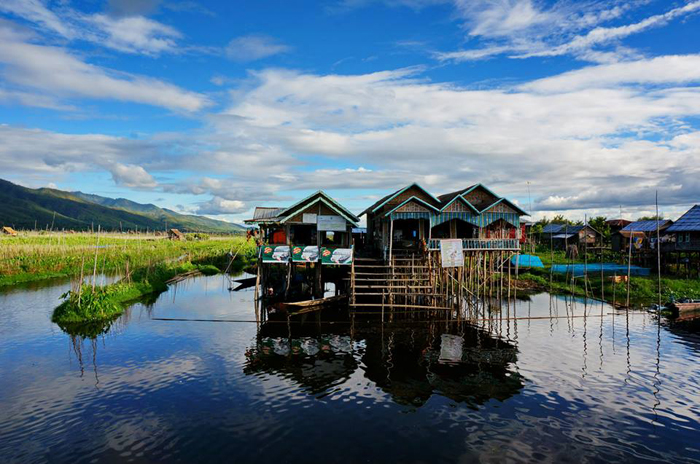 Myanmar homestay experience with the Pa-O family at Inle Lake.