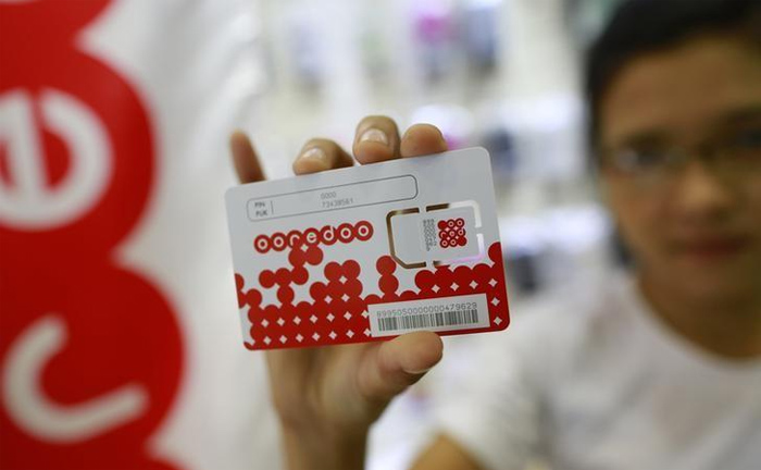 Prepaid sim card in Myanmar