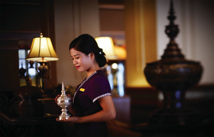 Accept the Burmese hospitality