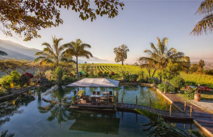 Monte Divino Lodge at winery nearby Inle Lake