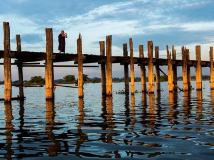 Myanmar Itinerary 8 Days: U-Bein Bridge