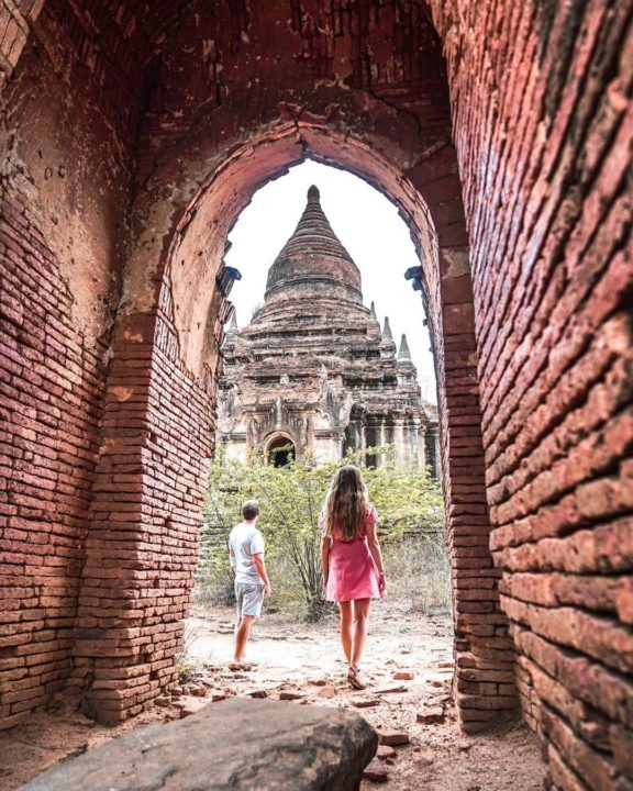 Bagan Pagoda Tour in Myanmar