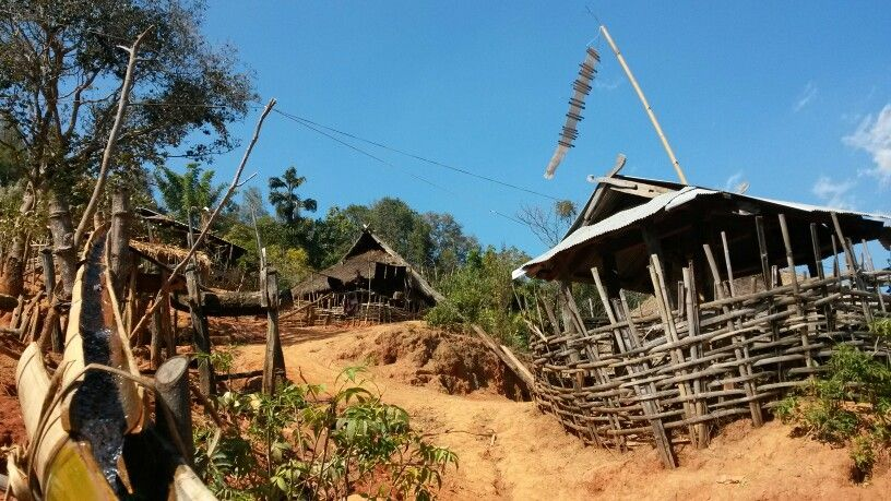 Ahka Village at Kyaing Tong Myanmar
